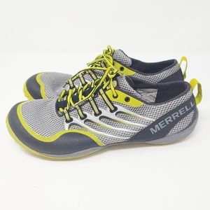 Merrell Barefoot Trail Glove Lace Up Sneaker Shoes